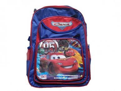 School Bag Backpack 16inch - Cars Mcqueen