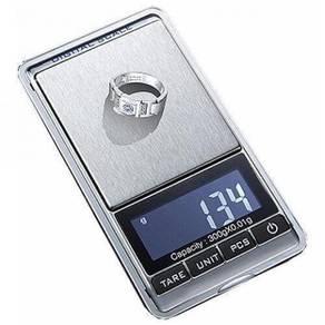 V Pocket Scale 0.01 Penimbang Emas Mini Weighing