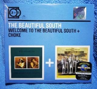 The Beautiful South WELCOME + CHOKE cd
