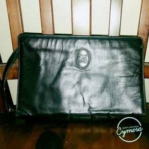 Clutch Bag Leather Louis Quatorze