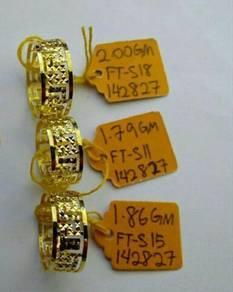 Cincin bujet emas916