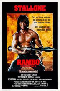 Poster MOVIE Rambo: First Blood Part II (1985)