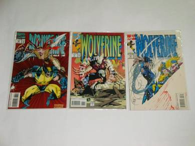 WOLVERINE. issue 76-78. The Lady Strikes