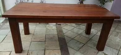 Solid thick Teakwood Table
