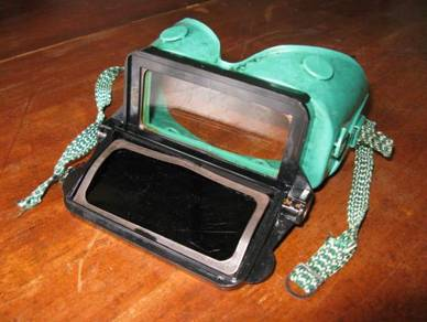 (B28) Vintage USA Insdustrial Goggle