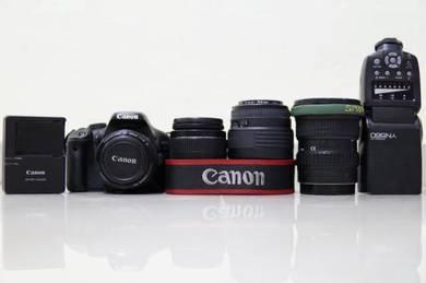 Canon 550d + all lens