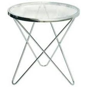 SSF Acero Side Table Clear