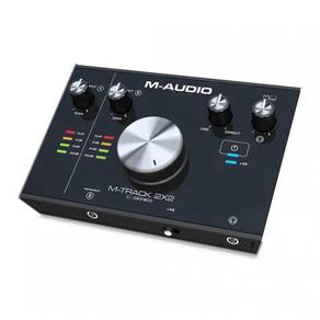 M-Audio m Track 2X2 Guitar Audio Interface