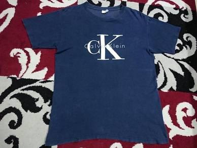 Vintage calvin klein ck t shirt size m usa
