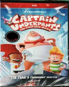 DVD Captain Underpants The First Epic Movie
