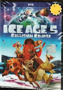 DVD ANIME Ice Age 5 Collision Course Movie