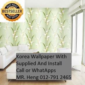 Beautiful In Wall paper with Installation 289S