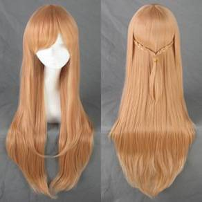 Anime SAO Asuna sinon cosplay fashion Wig