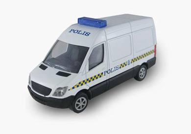 1/43 MB Van (PDRM) model car - panel van
