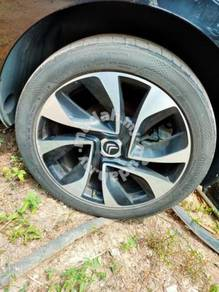 Citroen ds5 original rim set 18''