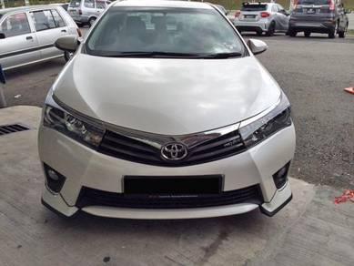 Toyota Altis 2014-2016 BODYKITS