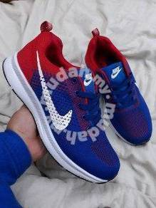 Zoom blue red