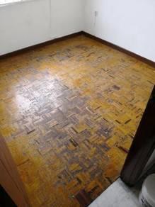 Vinyl Floor Lantai Timber Laminate PVC Floor Q604