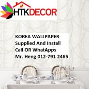 Korea Wall Paper for Your Sweet Home 412UW
