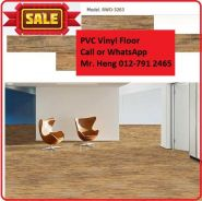 Natural Wood PVC Vinyl Floor - With Install r5y6