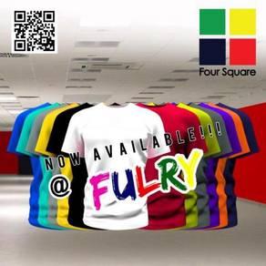 Foursquare Unisex Round Neck 160gsm Cotton TShirts