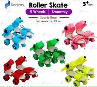 4 Wheels Adjustable Kids Roller Skate Shoe