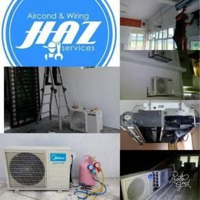 Servis repair pasang menjual aircond gombak