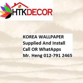PVC Vinyl Wall paper with Expert Install 473W