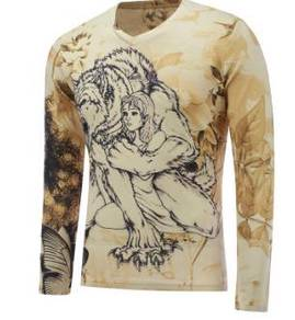 Beauty and the beast long sleeve