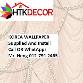 3D Korea Wall Paper with Installation 615BW