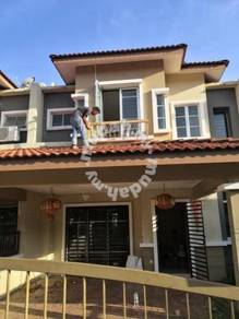 Superlink Double storey house, 4R3B Garden City Homes, Seremban 2