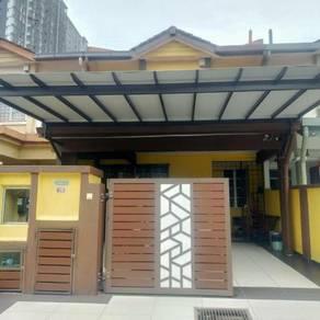 OPEN FACING Double Storey Intermidiate Taman Puchong Utama