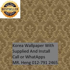 3D Korea WallPaper with Installation 45h54