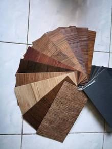 Vinyl Floor Lantai Timber Laminate PVC Floor Q614