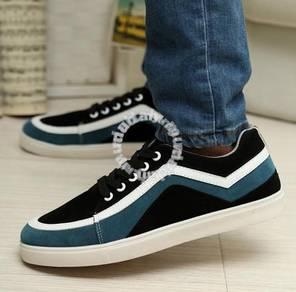 F0246 Trendy Sneakers Men Skater Kasut Murah Shoes