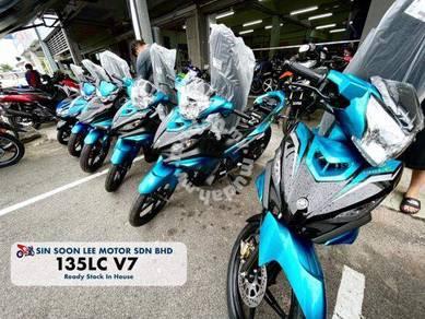 [reduced] yamaha 135lc ready stock paling murah