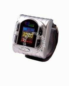 Diabetes cold laser watch blood pressure