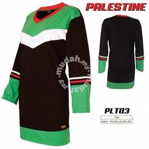 Baju Muslimah Palestin kod PLT03 size XS