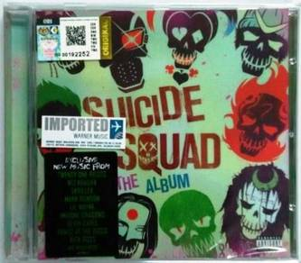 IMPORTED CD OST Suicide Squad