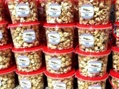 Popcorn sebagai doorgift goodies bag