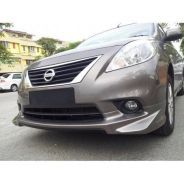Nissan almera bodykit impul with spoiler and paint
