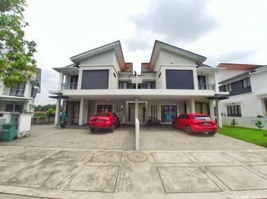 Partly-Furnished: 2.5Sty Semi-D, Sutera Residence, Taman Sutera Kajang