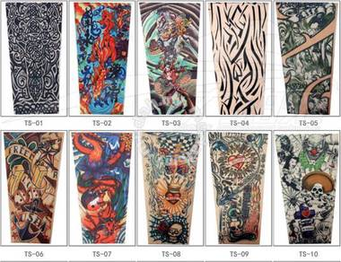 Tattoo Hands or Legs Sleeve Tattoo Shirts