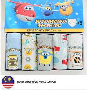 SuperWings 5 pieces Underwear for kids, Brief chil