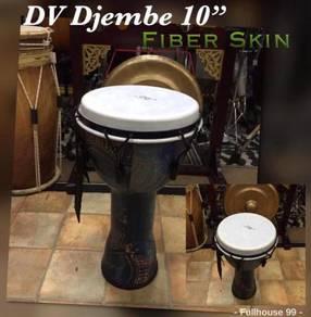 "DV Djembe Blue/Green : 10"""