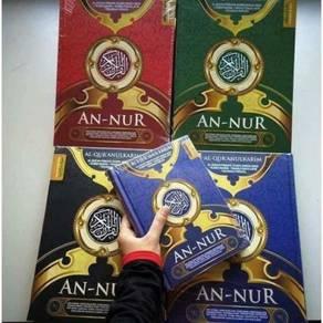Quran rumi an nur ramadhan a5 kluang