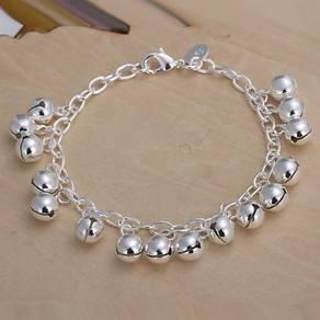 925 silver Bracelet H056 ringing bell