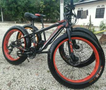 Fat bike TRS Crestone 21speed