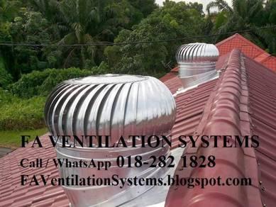 GTFD14 WINDMILL Wind Exhaust Fan / Ventilator (US)