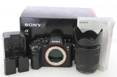 Kamera sony with lenses